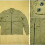 Jacket Green Coast Krem Original