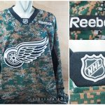 Jersey Hockey NHL Red Wings Camo