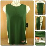 Nike League Reversible Practice Men's Basketball Tank Top - Green White