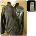 Hoodie Faded Glory Full Zip Original