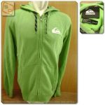 Hoodie Quiksilver Everyday zip Original Green