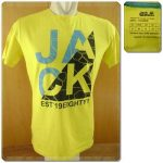 Jack Wolfskin Levin OC T-Shirt Yellow Original