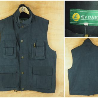 Rompi Vest New Fashion Navy Original
